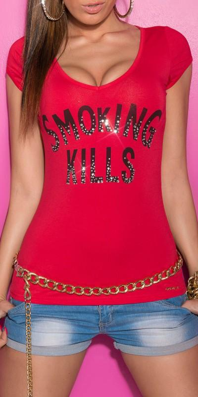 Camiseta moda casual con mensaje
