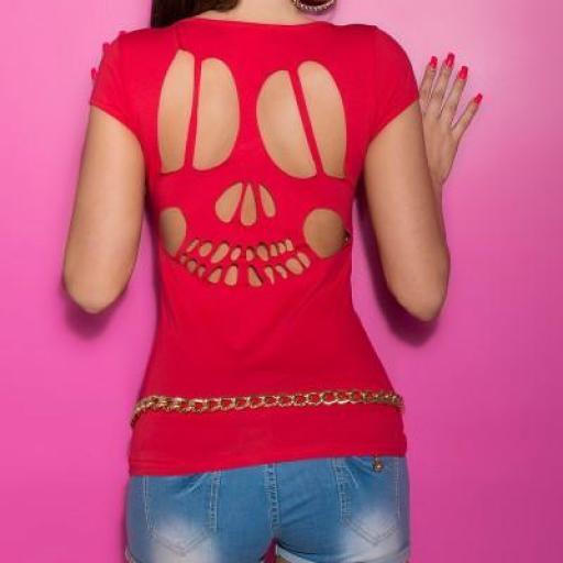 Camiseta moda casual con mensaje [1]