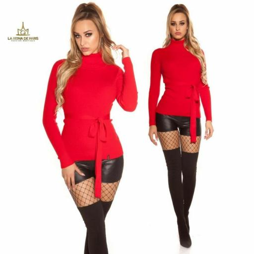Jersey rojo fashion cut out [3]