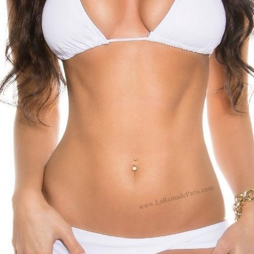 Bikini blanco triangulo low cost [1]
