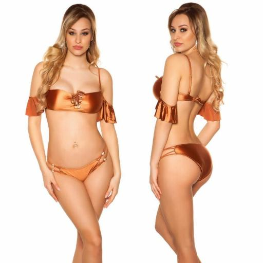 Bikini Tulum bronce [2]