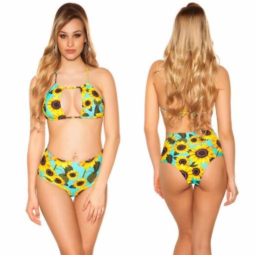 Bikini girasoles menta [1]