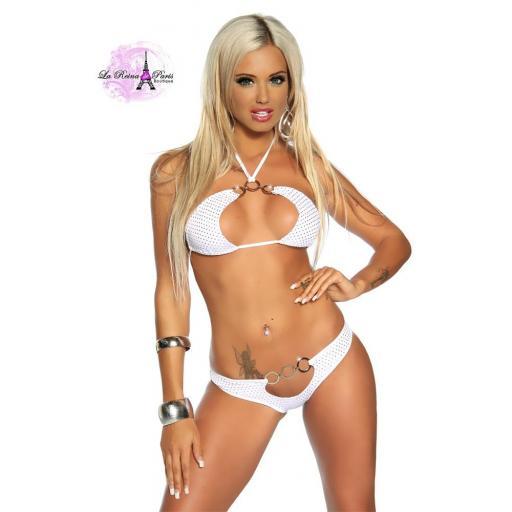 Bikini gogó Priska blanco  [1]