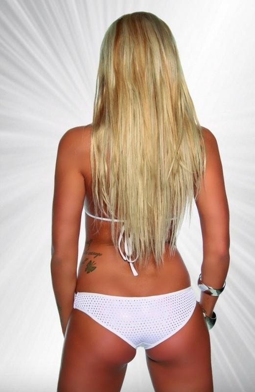 Bikini gogó Priska blanco