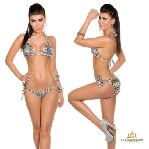 Bikinis Leopardo print Boreal [2]