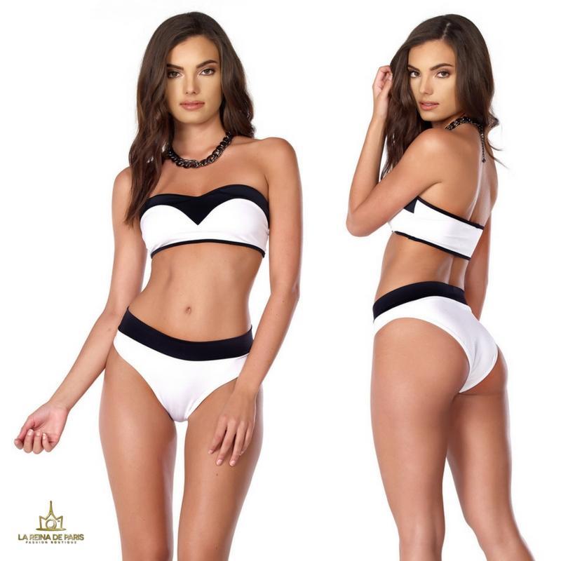 ¡Oferta! Bikini deportivo de dos tonos