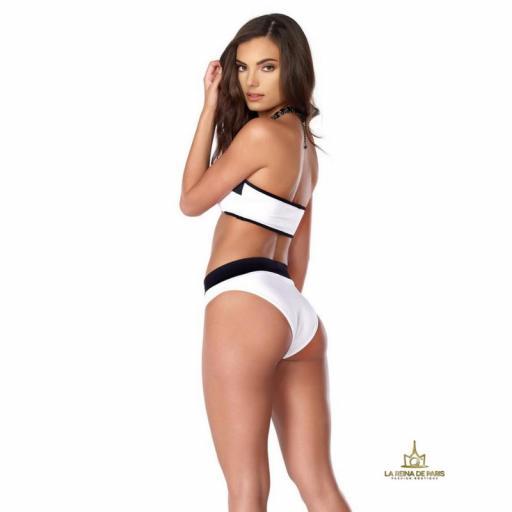 ¡Oferta! Bikini deportivo de dos tonos  [2]