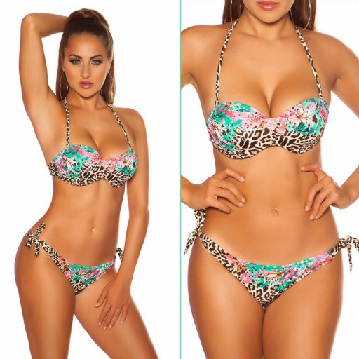 Bikini push up Malmok verde