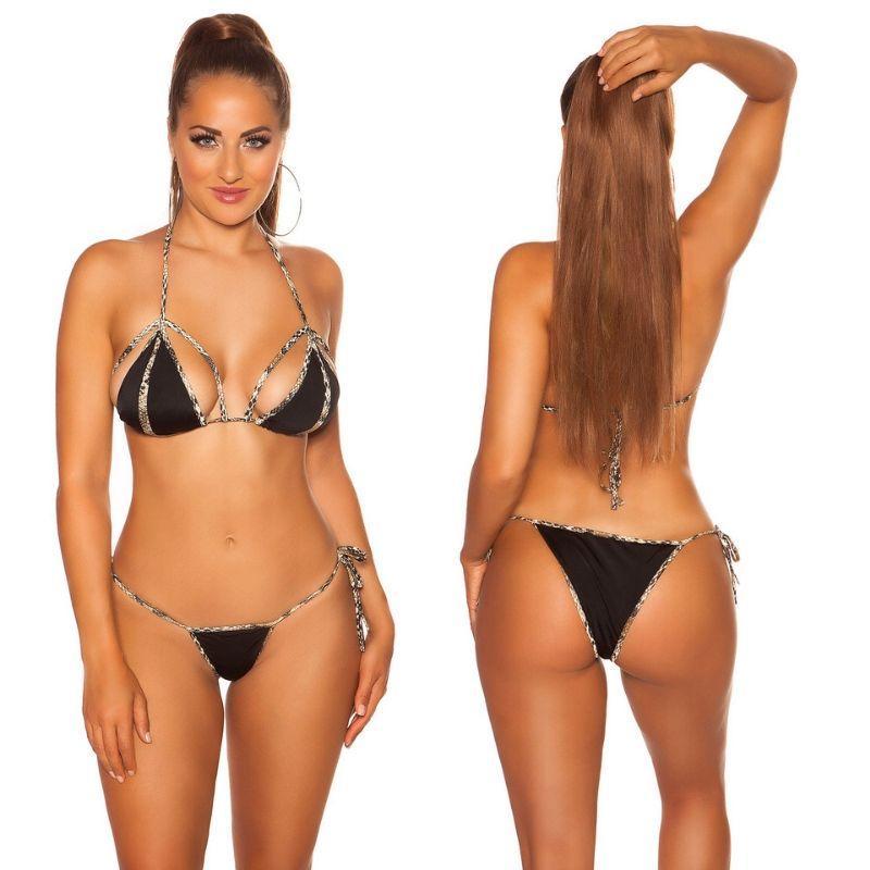 Bikini Chia serpiente print