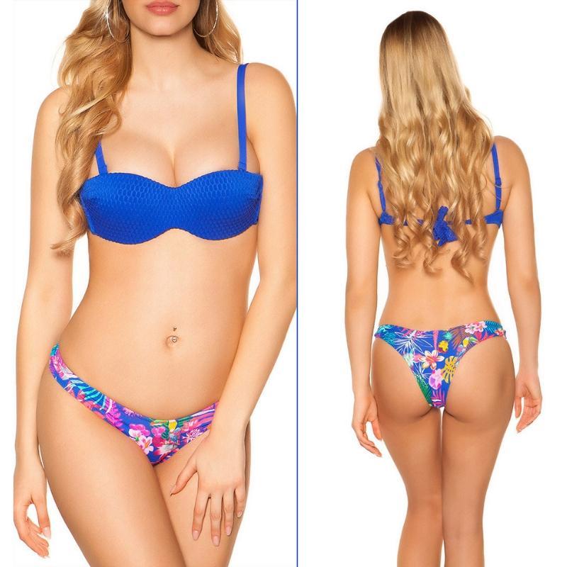 Bikini Copacabana azul
