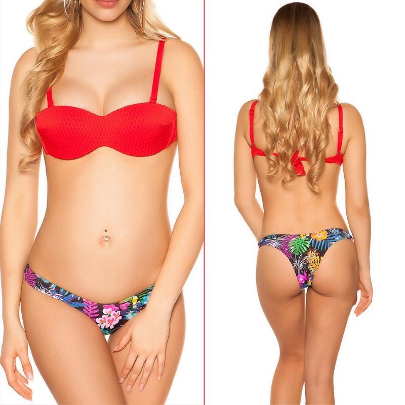 Bikini Copacabana rojo