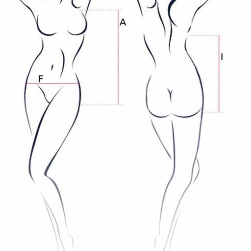 Body elástico con encaje   [3]