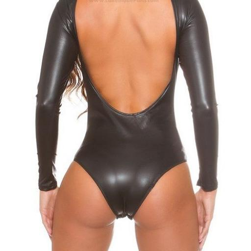 Body latex brillante ajustado [2]
