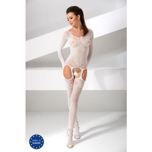 Bodystocking Charlotte blanco