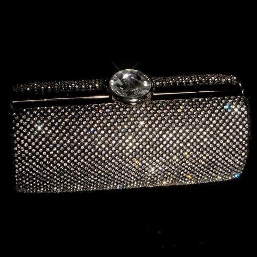 Bolso clutch negro [1]