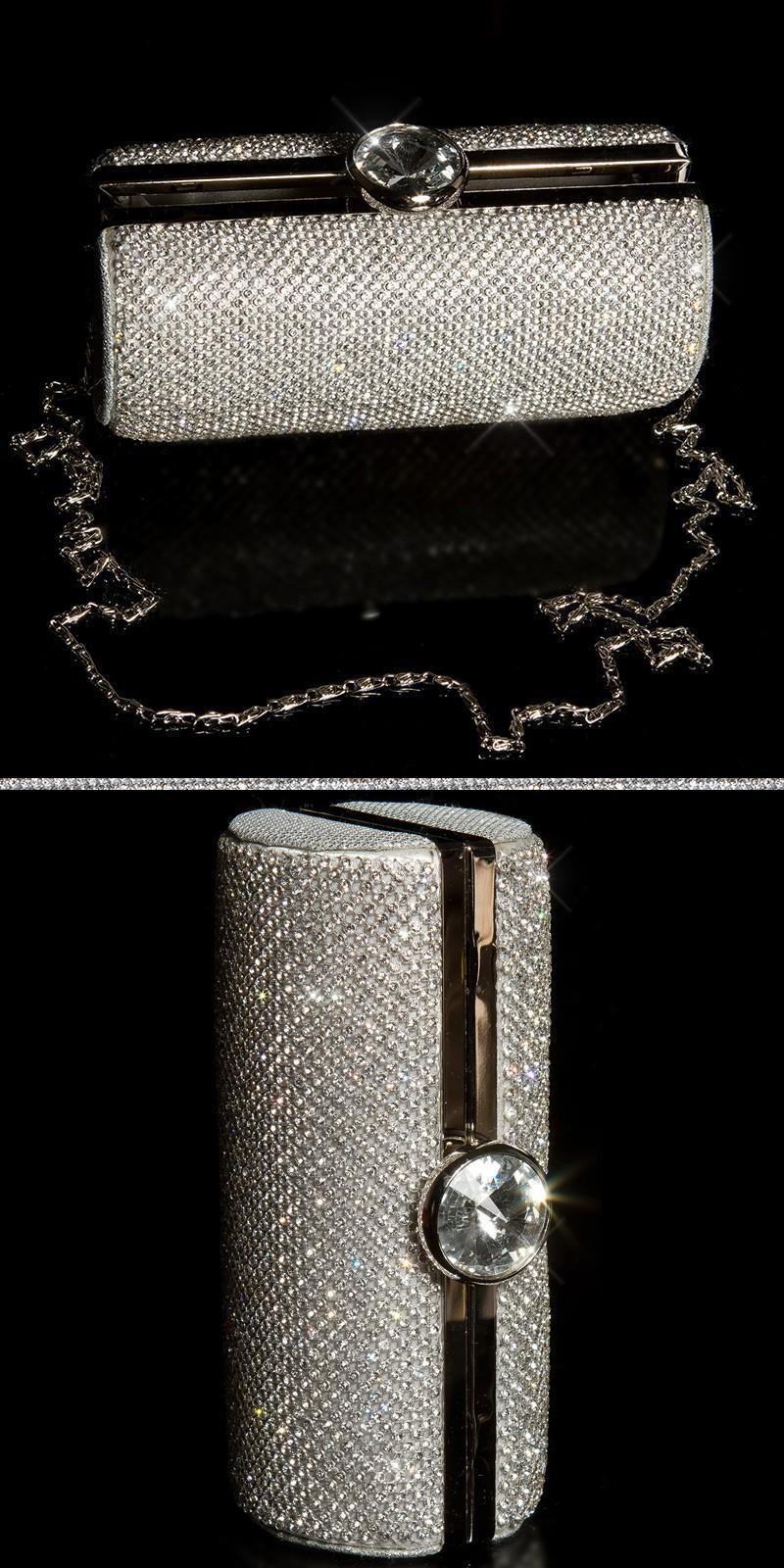 Bolso clutch plata