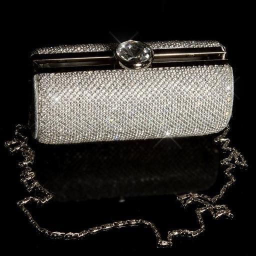 Bolso clutch plata [3]