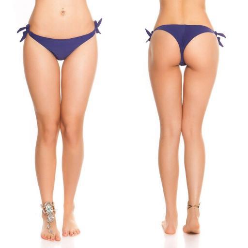 Braguita Bikini Brasileña azul