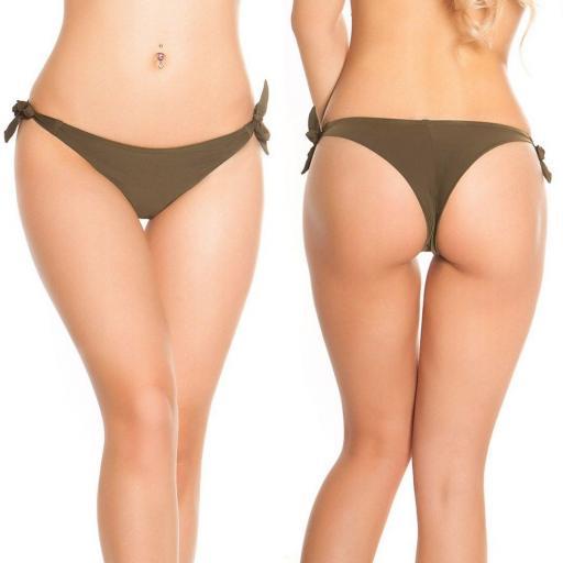 Braguita Bikini Brasileña khaki