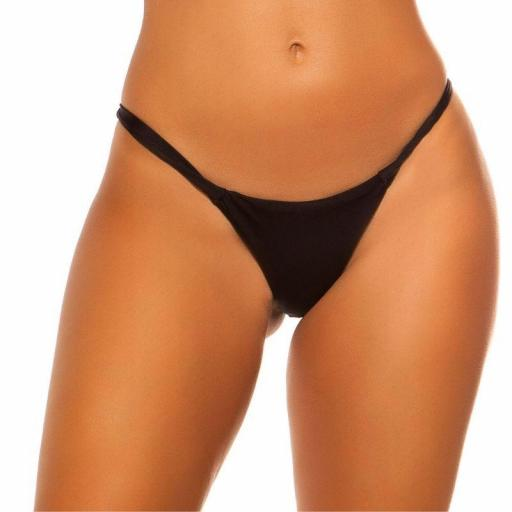 Braga bikini negro combinable