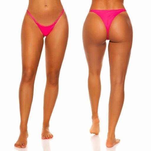 Braga bikini fucsia combinable  [2]