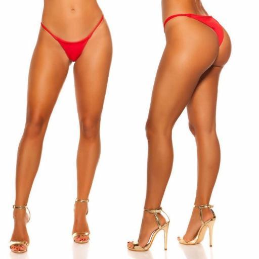 Braga bikini rojo combinable  [3]