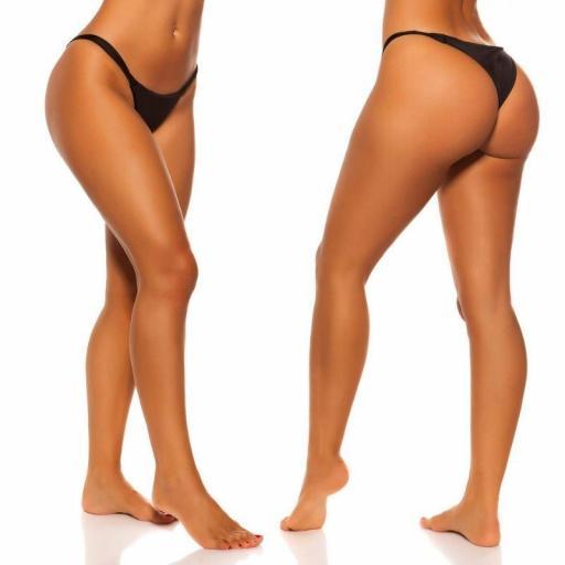 Braga bikini negro combinable  [2]