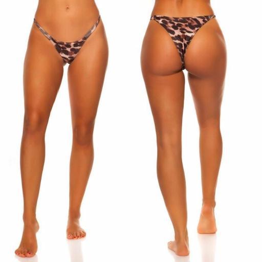 Braga bikini leopardo combinable  [2]