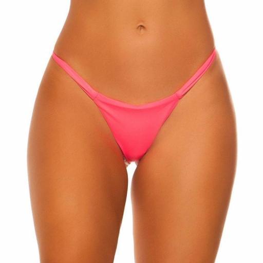Braga bikini coral combinable