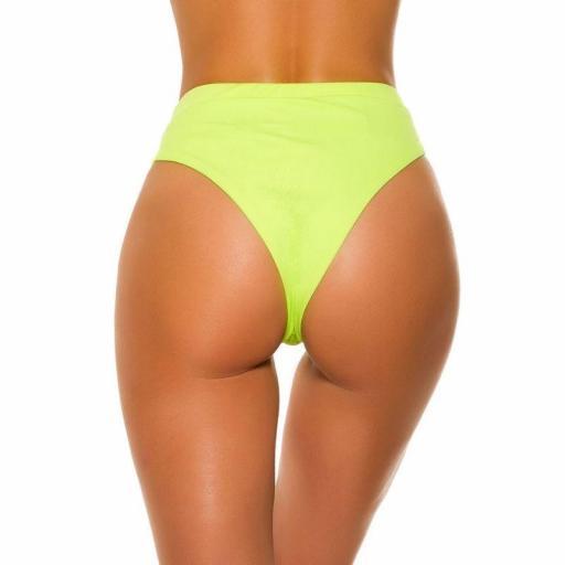 Braga slip cintura alta amarillo  [1]