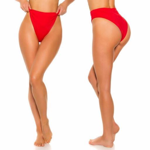 Braga slip cintura alta combinable rojo [3]