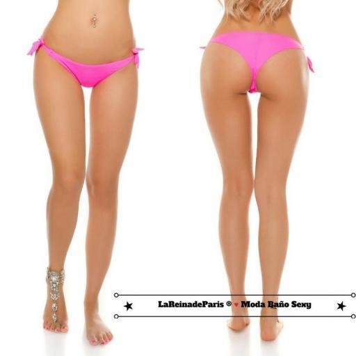 Braguita Bikini Brasileña Fucsia [3]