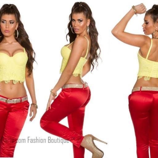 Bustier para vestir con encaje Shania [3]