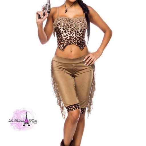 Cowgirl disfraz areactivo [1]