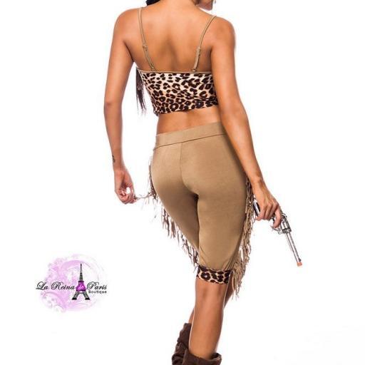 Cowgirl disfraz areactivo [2]
