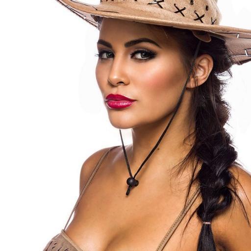 Cowgirl disfraz areactivo [3]