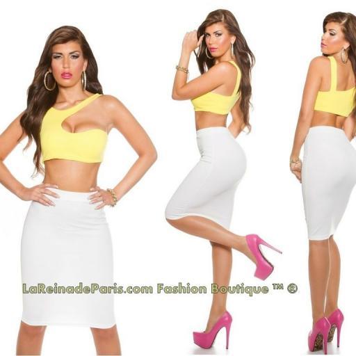 Crop top tendencias moda Ilonka                     [2]