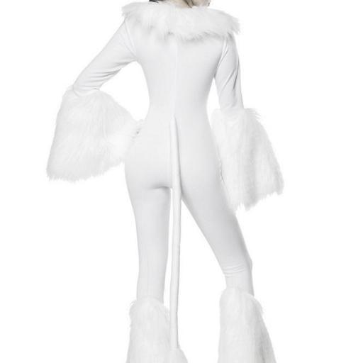Disfraz atractivo de unicornio blanco  [1]