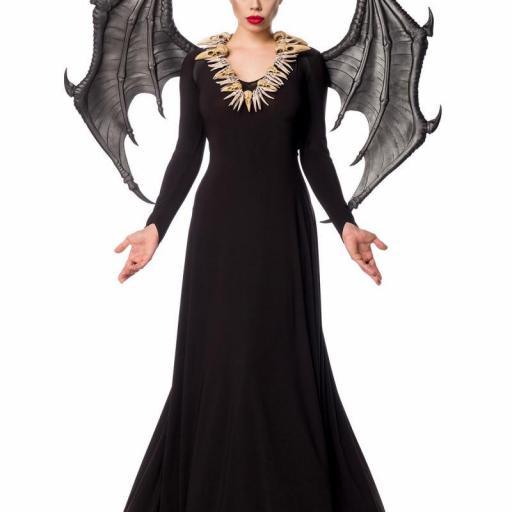 Malvada disfraz con alas