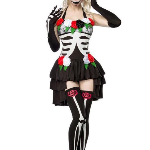 Esqueleto mexicano disfraz
