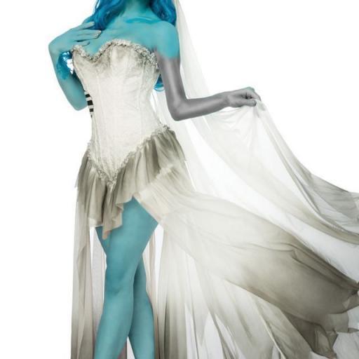 Disfraz novia terror