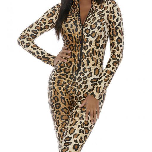 Mono leopardo salvaje