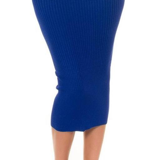 Moda tendencia falda lápiz+ jersey crop  [2]