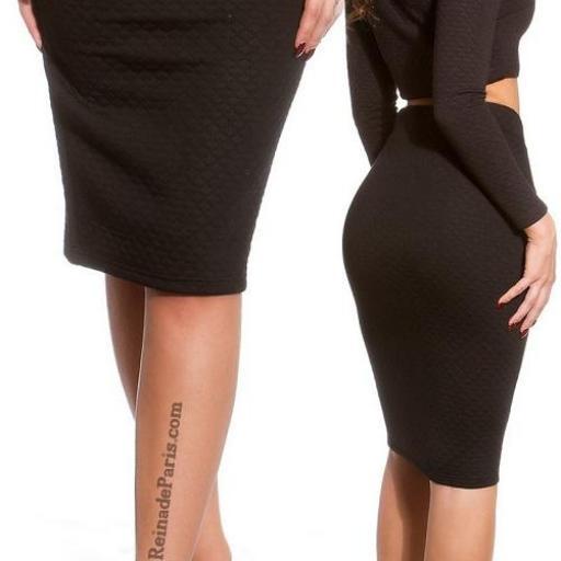 Faldas a la moda de talle alta Jordan