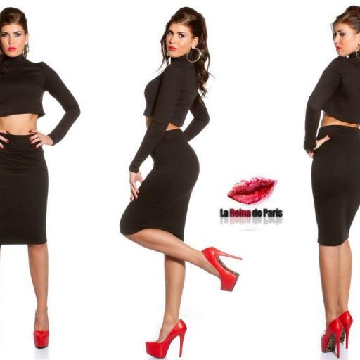 Faldas a la moda de talle alta Jordan [1]