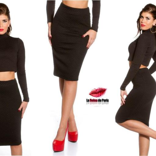 Faldas a la moda de talle alta Jordan [2]