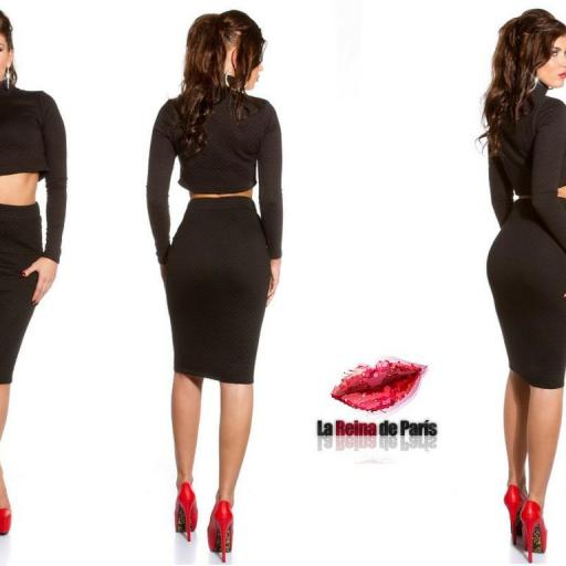 Faldas a la moda de talle alta Jordan [3]