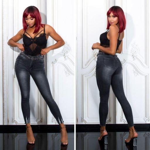 Jeans Ripped ajustado
