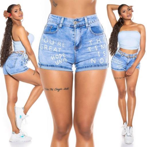 Jeans cortos de verano