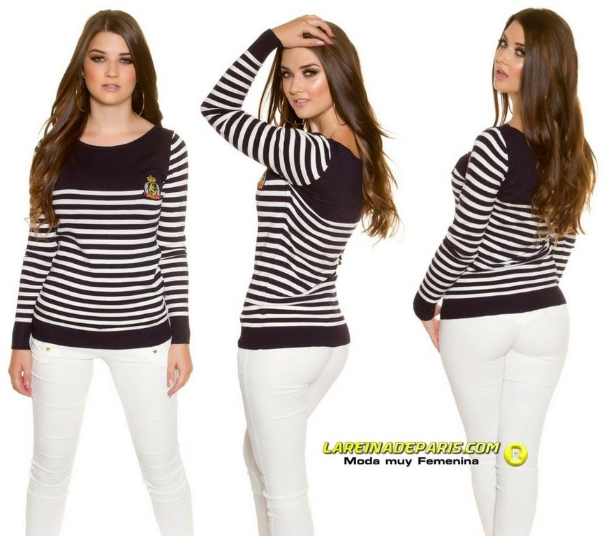 Jersey náutico femenino tendencia y moda